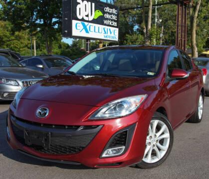2010 Mazda MAZDA3 for sale at EXCLUSIVE MOTORS in Virginia Beach VA