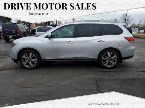2014 Nissan Pathfinder for sale at Drive Motor Sales in Ionia MI