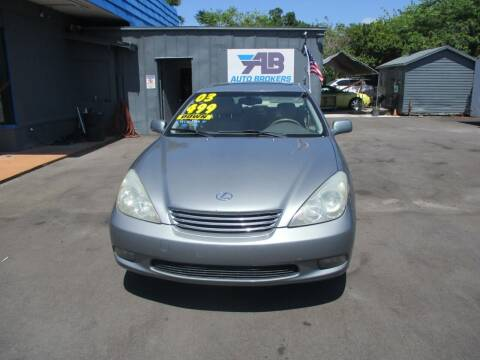 2003 Lexus ES 300 for sale at AUTO BROKERS OF ORLANDO in Orlando FL
