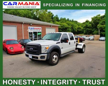 2012 Ford F-450 Super Duty for sale at CARMANIA LLC in Chesapeake VA