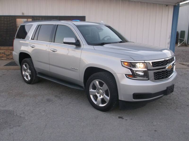 2015 Chevrolet Tahoe for sale at AUTO TOPIC in Gainesville TX