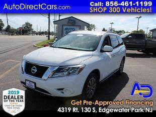 2015 Nissan Pathfinder for sale at Auto Direct Trucks.com in Edgewater Park NJ