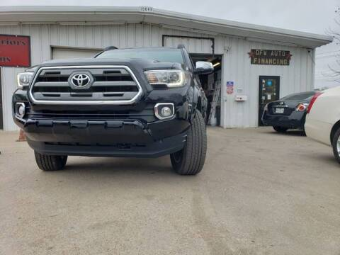 2016 Toyota Tacoma for sale at Bad Credit Call Fadi in Dallas TX