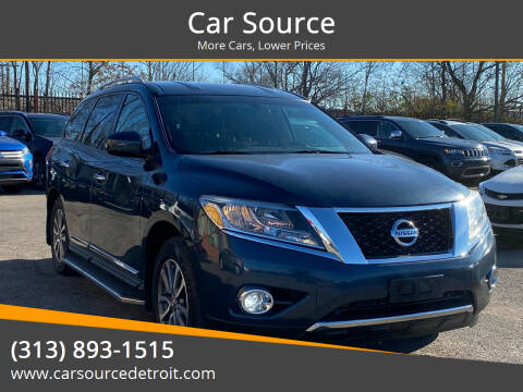 2014 Nissan Pathfinder for sale at Car Source in Detroit MI