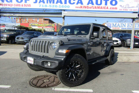 2019 Jeep Wrangler Unlimited for sale at MIKEY AUTO INC in Hollis NY