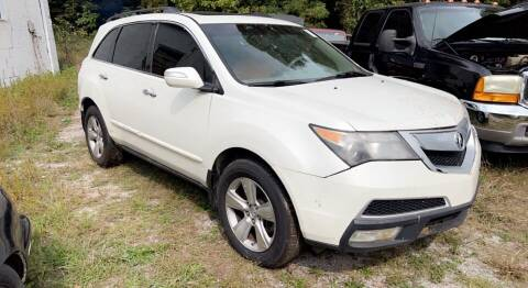 2011 Acura MDX for sale at North Knox Auto LLC in Knoxville TN