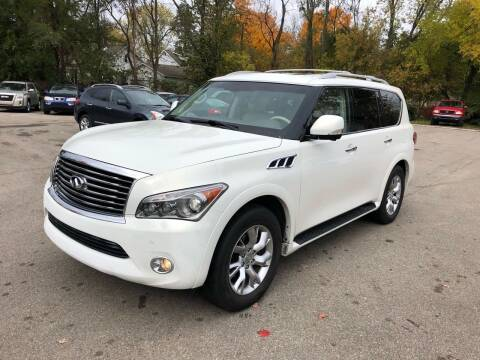 2011 Infiniti QX56 for sale at Station 45 Auto Sales Inc in Allendale MI