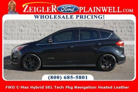 2013 Ford C-MAX Hybrid for sale at Zeigler Ford of Plainwell- michael davis in Plainwell MI