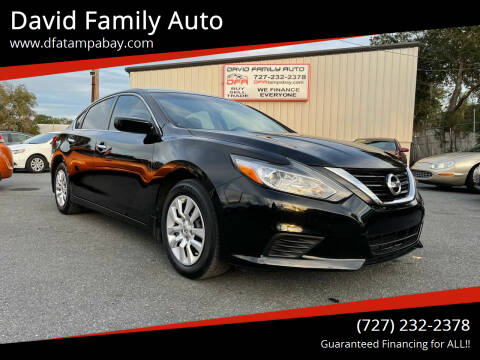 2017 Nissan Altima for sale at David Family Auto in New Port Richey FL
