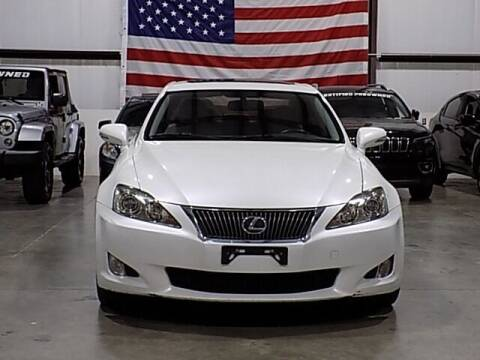 2010 Lexus IS 250 for sale at Texas Motor Sport in Houston TX
