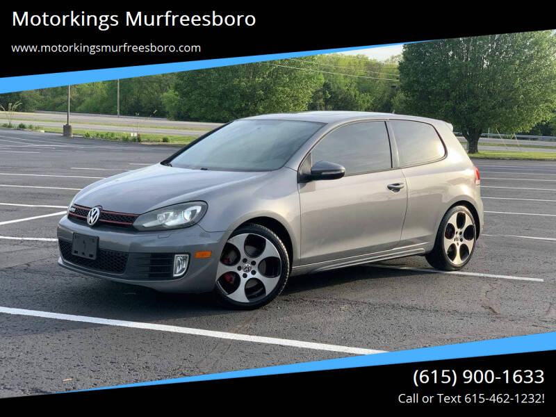 2011 Volkswagen GTI for sale at Motorkings Murfreesboro in Murfreesboro TN