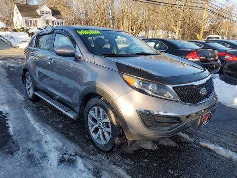 2014 Kia Sportage for sale at CENTRAL GROUP in Raritan NJ