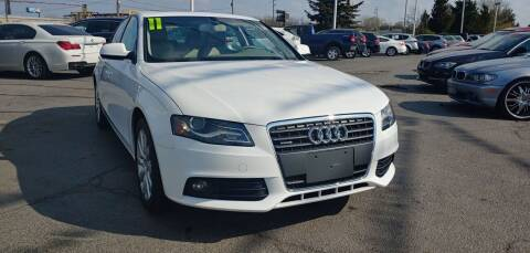 2011 Audi A4 for sale at I-80 Auto Sales in Hazel Crest IL