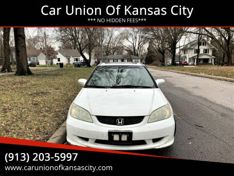 2004 Honda Civic for sale at Car Union Of Kansas City in Kansas City MO