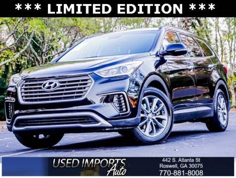 2017 Hyundai Santa Fe for sale at Used Imports Auto in Roswell GA
