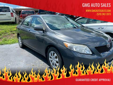 2009 Toyota Corolla for sale at GMG AUTO SALES in Scranton PA