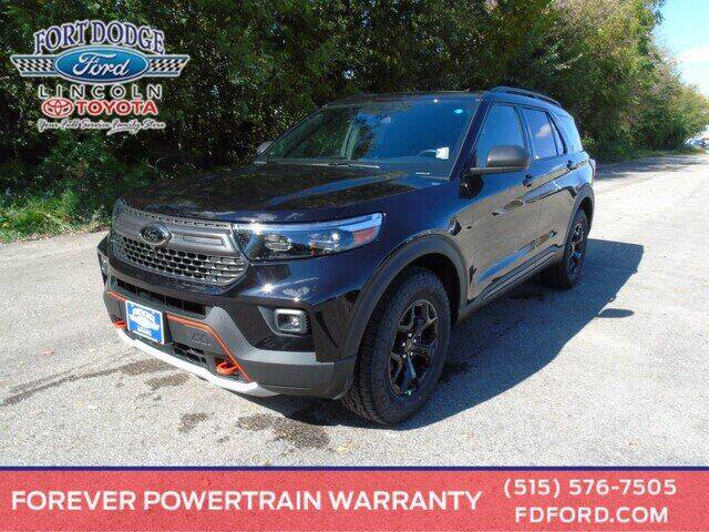 2021 Ford Explorer for sale in Fort Dodge, IA