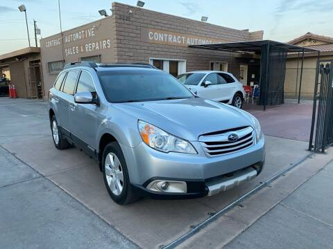 2012 Subaru Outback for sale at CONTRACT AUTOMOTIVE in Las Vegas NV