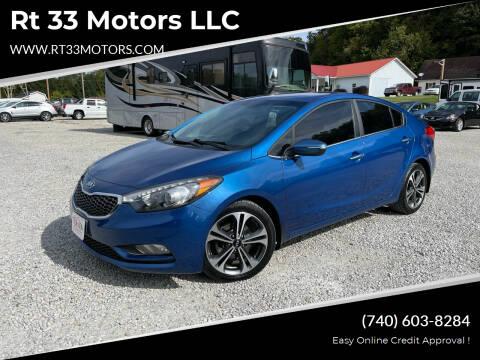 2015 Kia Forte for sale at Rt 33 Motors LLC in Rockbridge OH
