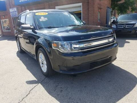 2014 Ford Flex for sale at BELLEFONTAINE MOTOR SALES in Bellefontaine OH