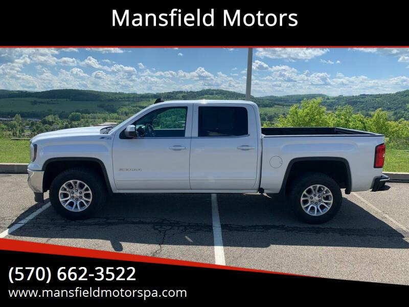 2016 GMC Sierra 1500 for sale at Mansfield Motors in Mansfield PA