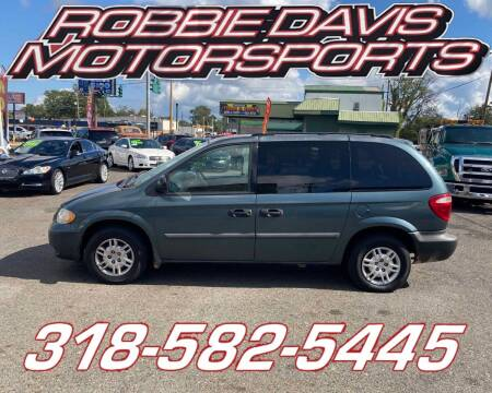 2005 Dodge Caravan for sale at Robbie Davis Motorsports in Monroe LA