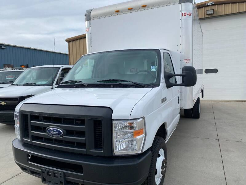 2019 Ford Cutaway 16' Cube Van  12,500# GVWR for sale at Albers Sales and Leasing, Inc in Bismarck ND