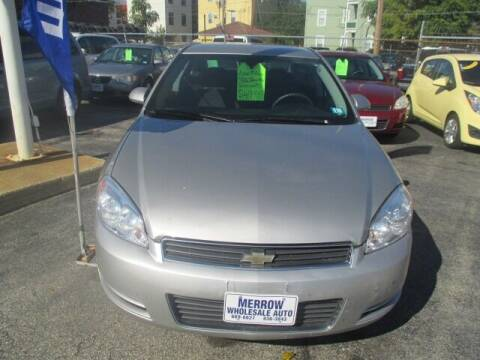 2007 Chevrolet Impala for sale at MERROW WHOLESALE AUTO in Manchester NH