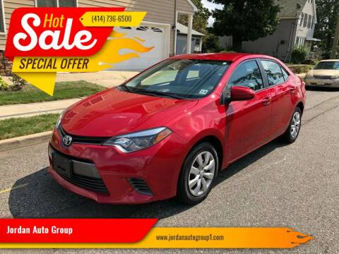 2015 Toyota Corolla for sale at Jordan Auto Group in Paterson NJ