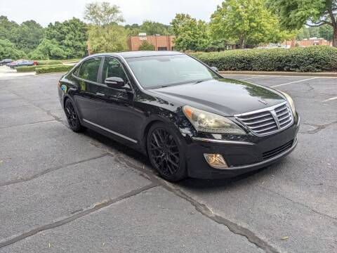 2011 Hyundai Equus for sale at United Luxury Motors in Stone Mountain GA