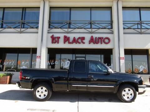 2004 Chevrolet Silverado 1500 for sale at First Place Auto Ctr Inc in Watauga TX