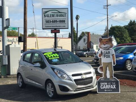 2015 Chevrolet Spark for sale at Salem Auto Market in Salem OR