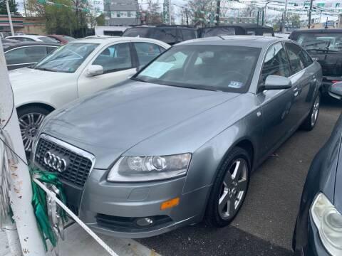 2008 Audi A6 for sale at Park Avenue Auto Lot Inc in Linden NJ