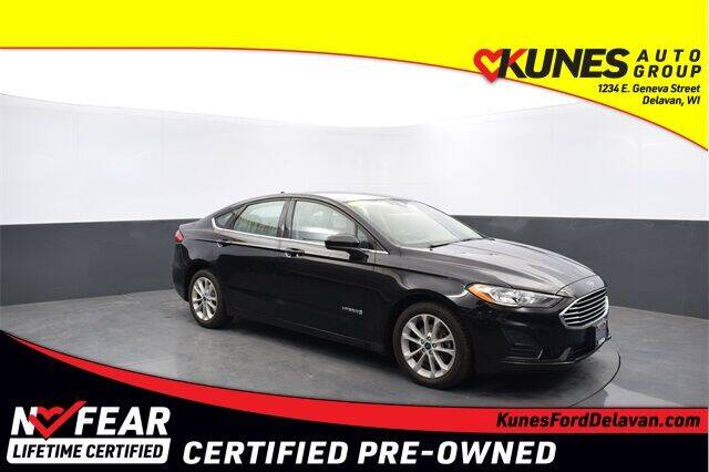 2019 Ford Fusion Hybrid for sale in Delavan, WI