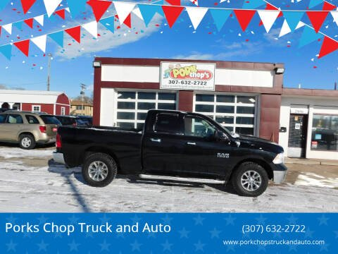 2013 RAM Ram Pickup 1500 for sale at Pork Chops Truck and Auto in Cheyenne WY