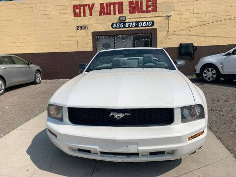 2005 Ford Mustang for sale at City Auto Sales in Roseville MI