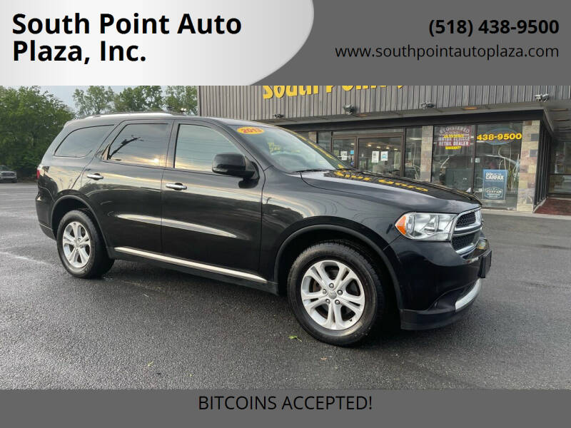 2013 Dodge Durango for sale at South Point Auto Plaza, Inc. in Albany NY