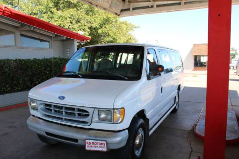 1998 Ford E-350 for sale at KD Motors in Lubbock TX