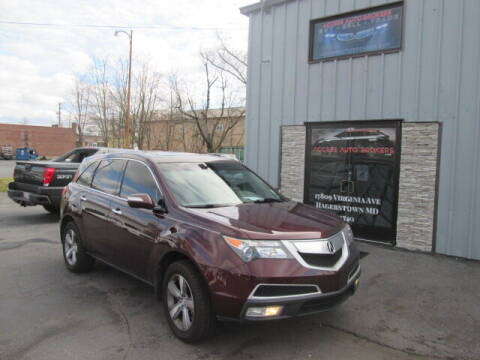 2011 Acura MDX for sale at Access Auto Brokers in Hagerstown MD
