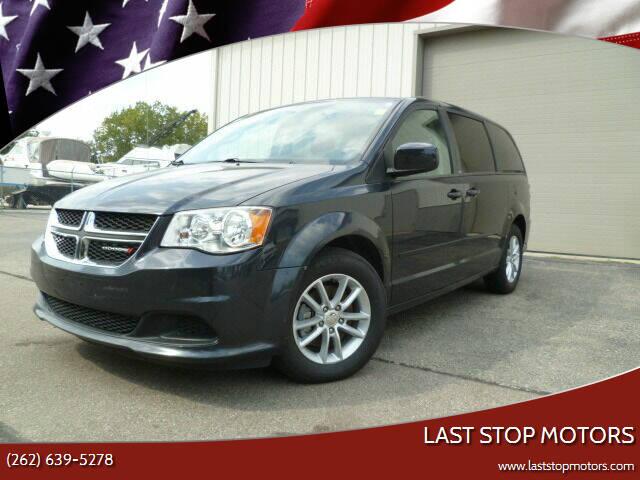 2013 Dodge Grand Caravan for sale at Last Stop Motors in Racine WI
