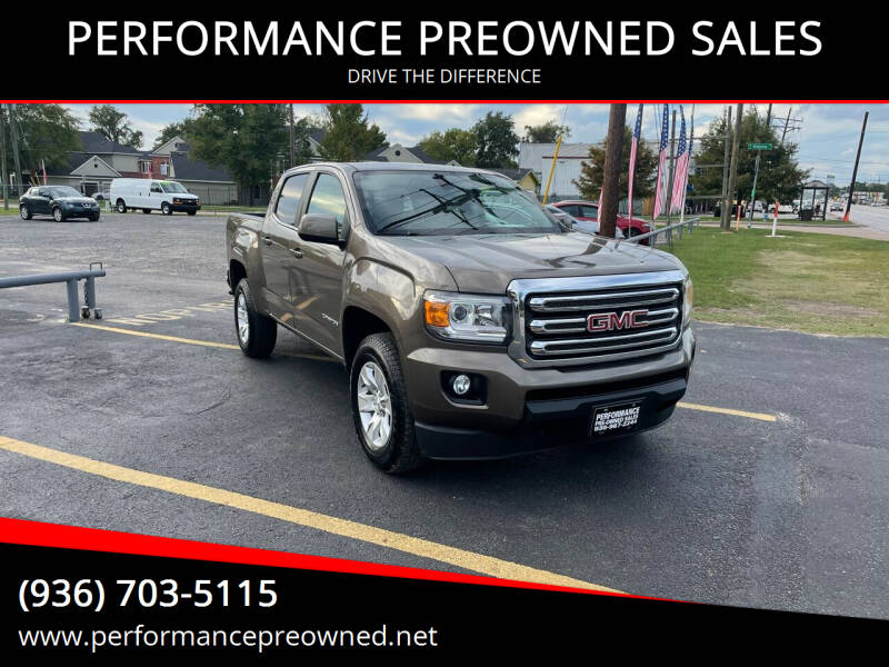 2016 GMC Canyon for sale at PERFORMANCE PREOWNED SALES in Conroe TX