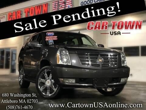 2011 Cadillac Escalade for sale at Car Town USA in Attleboro MA
