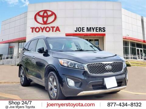 2016 Kia Sorento for sale at Joe Myers Toyota PreOwned in Houston TX