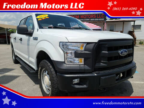 2016 Ford F-150 for sale at Freedom Motors LLC in Knoxville TN