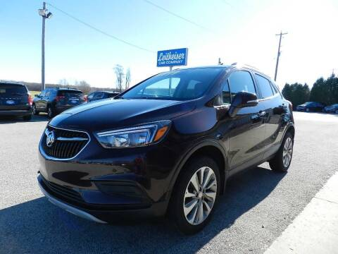 2017 Buick Encore for sale at Leitheiser Car Company in West Bend WI