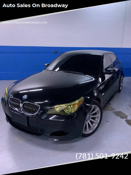 2006 BMW M5 for sale at Auto Sales on Broadway in Norwood MA