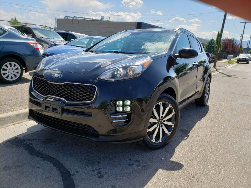 2017 Kia Sportage for sale at High Line Auto Sales in Salt Lake City UT