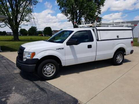 2013 Ford F-150 for sale at CALDERONE CAR & TRUCK in Whiteland IN