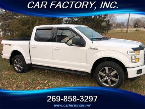 2016 Ford F-150 for sale at Car Factory Inc. in Three Rivers MI