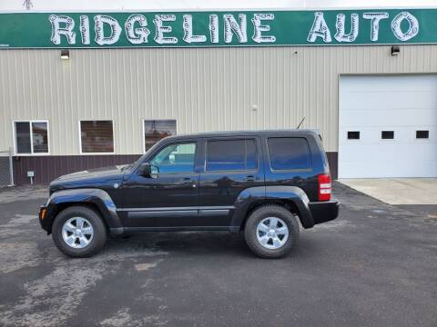2012 Jeep Liberty for sale at RIDGELINE AUTO in Chubbuck ID